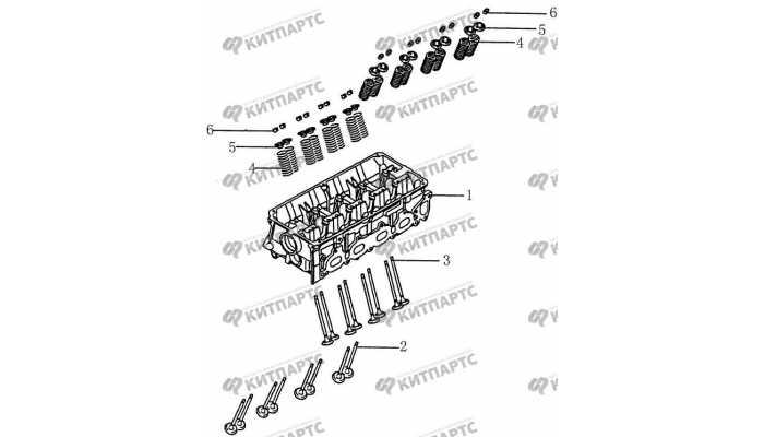 Клапаны BYD F3 (F3R)