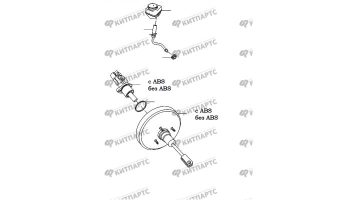 Тормозной цилиндр Chery Amulet (A15)