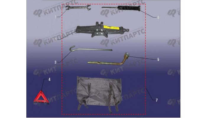 Дорожные инструменты Chery Fora (A21)