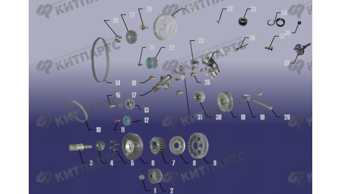 Механизм газораспределения Chery Tiggo (T11)