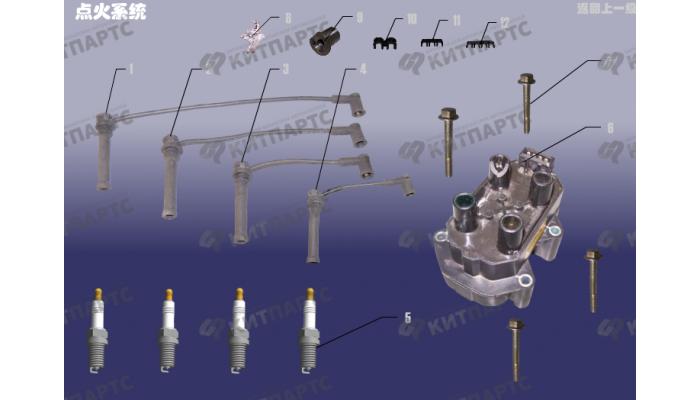 Система зажигания Chery Tiggo (T11)