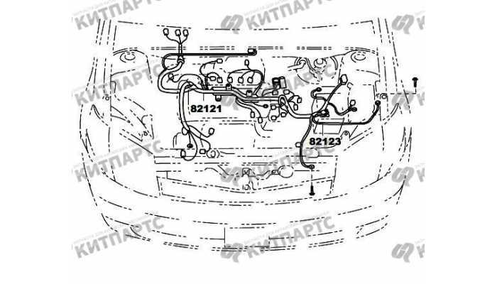 Жгут проводов двигателя FAW Vita