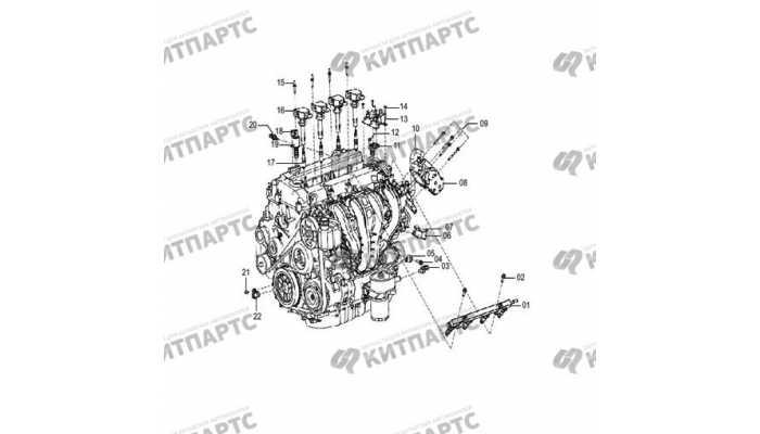 Электроника двигателя FAW Besturn X80