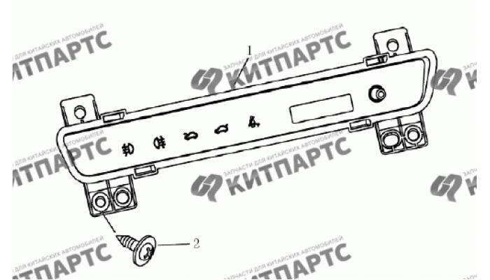 Комбинация приборов мультифункциональная Geely Emgrand (EC7)