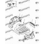 Обивка багажника (седан)
