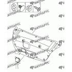 Обивка крышки багажника (седан)