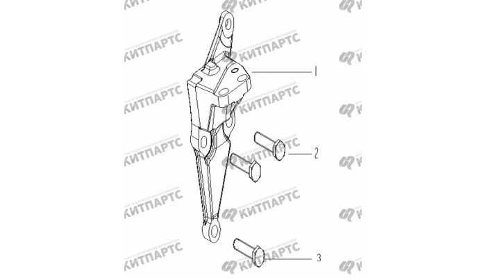 Кронштейн двигателя правый Geely Vision (FC)